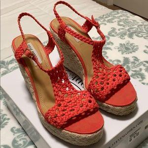 Steve Madden Espadrille Wedge Sandals